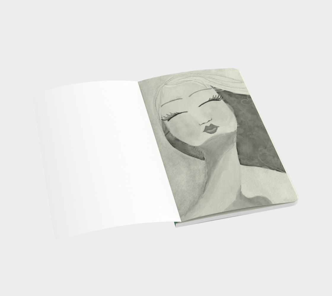 Peaceful Small Notebook preview #3