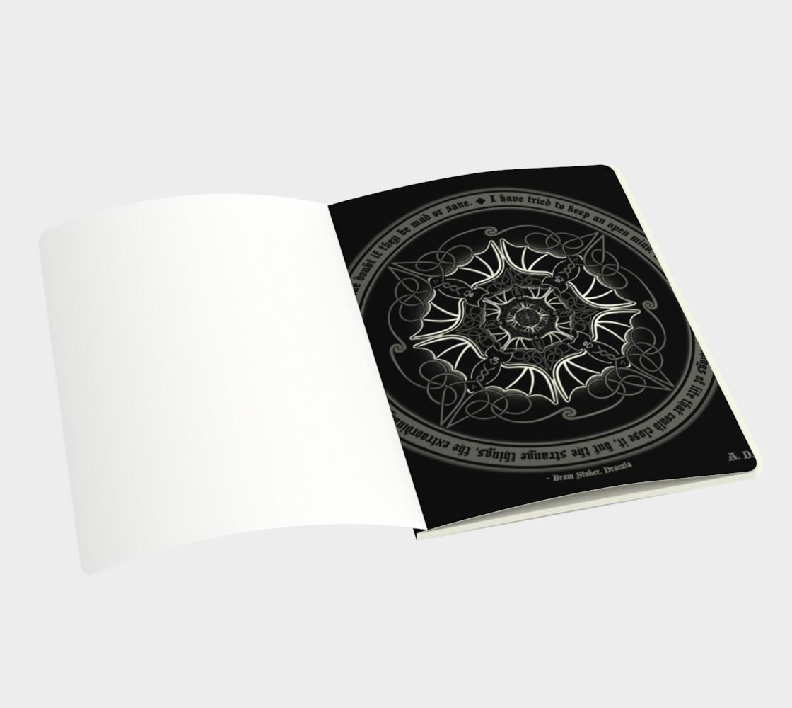 Celtic Vampire Bat Mandala preview #3