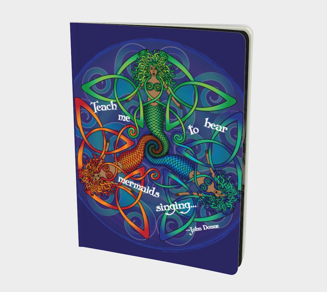 Celtic Mermaid Mandala preview #1