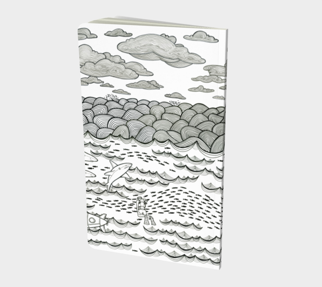 Ocean notebook small preview #2