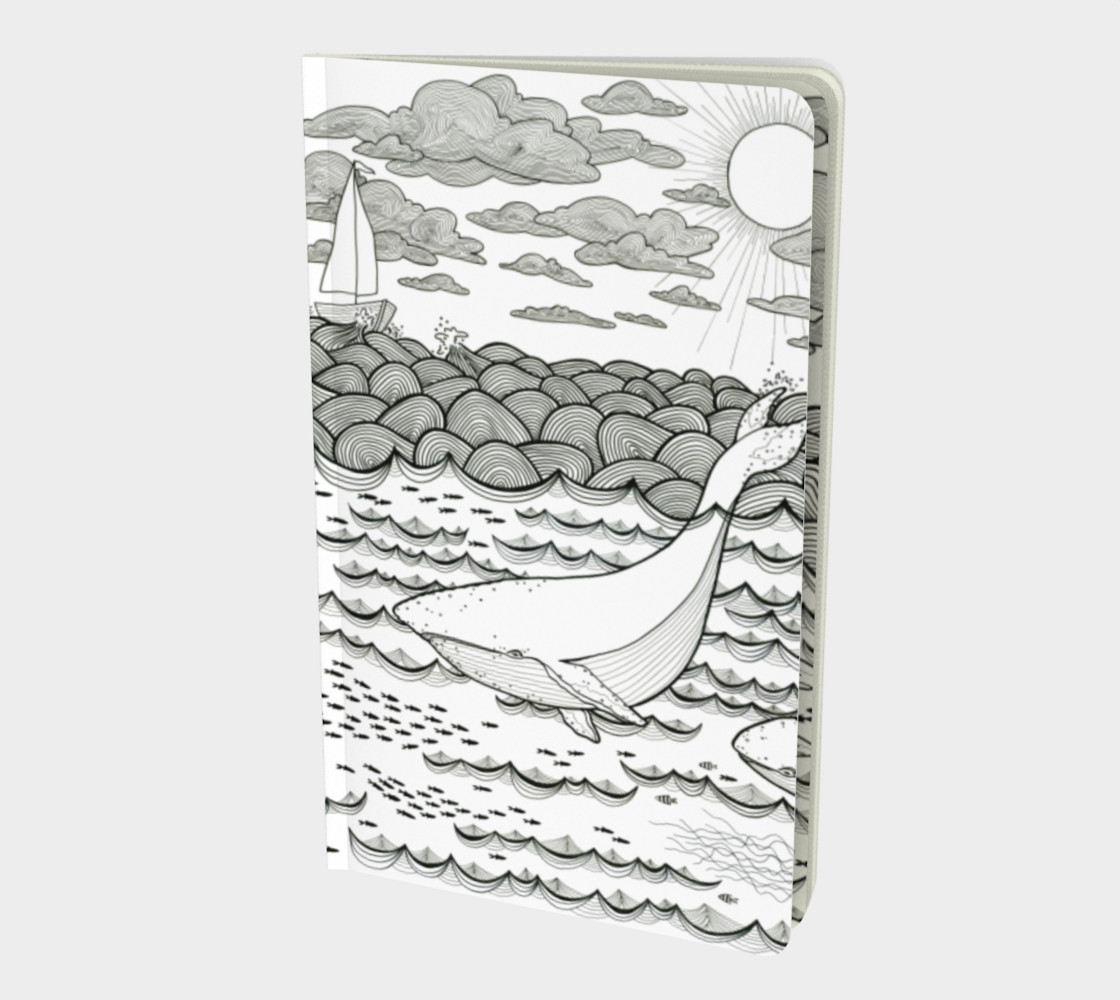Ocean notebook small preview #1