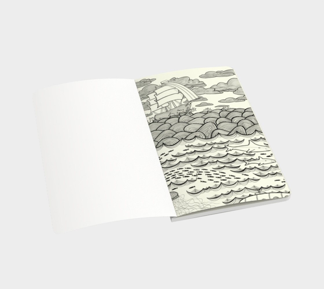 Ocean notebook small preview #3
