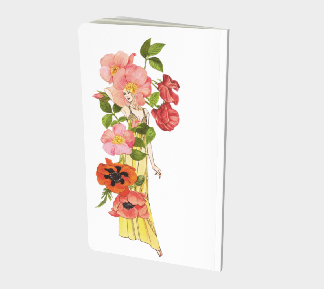 Sweet Pea Notebook preview #2