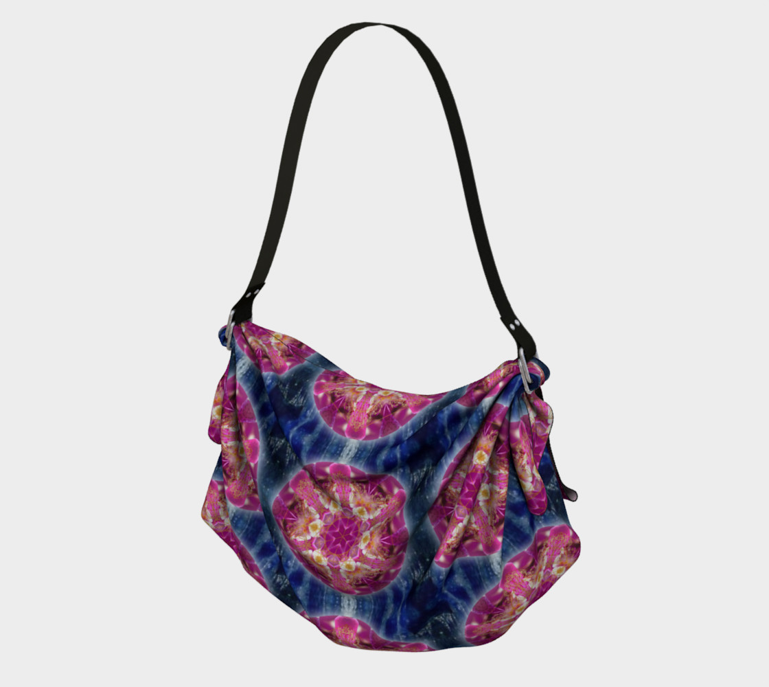 Cosmic Love Origami Tote 3D preview