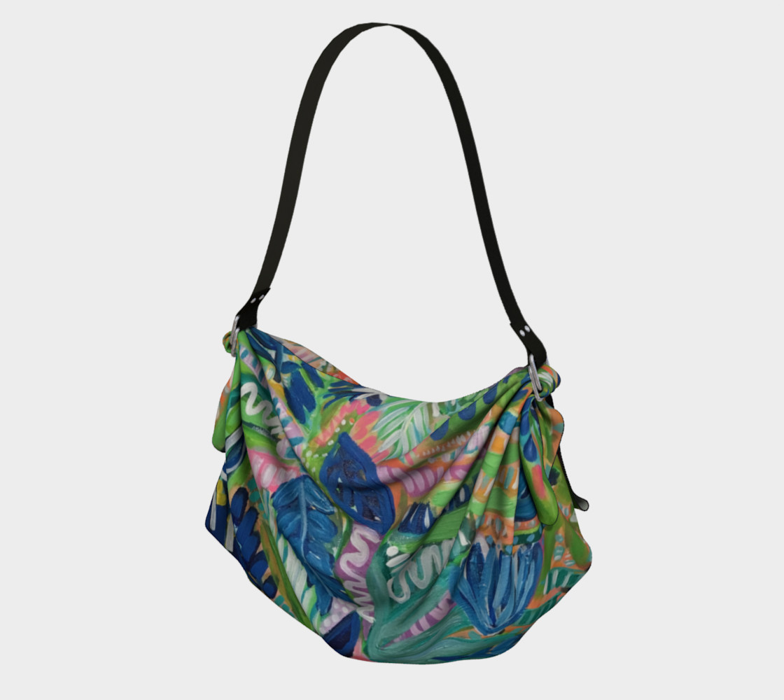 Jungle Jive- Origami Bag preview #1
