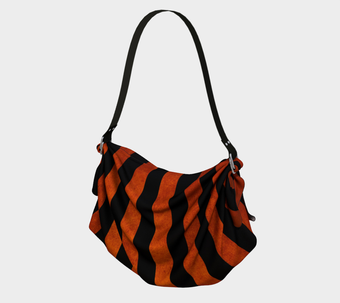 Stripes Collection: Halloween Origami Tote preview #1