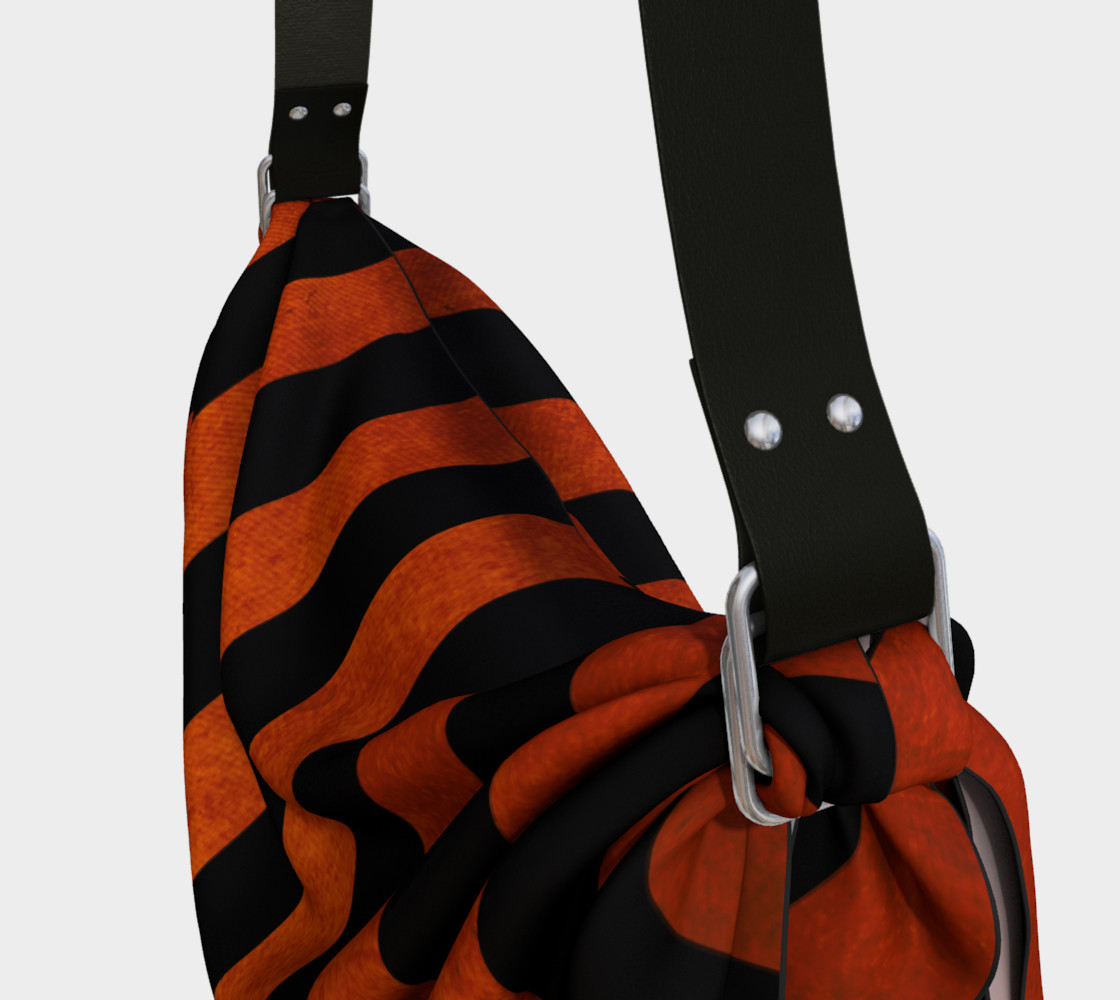 Stripes Collection: Halloween Origami Tote preview #3
