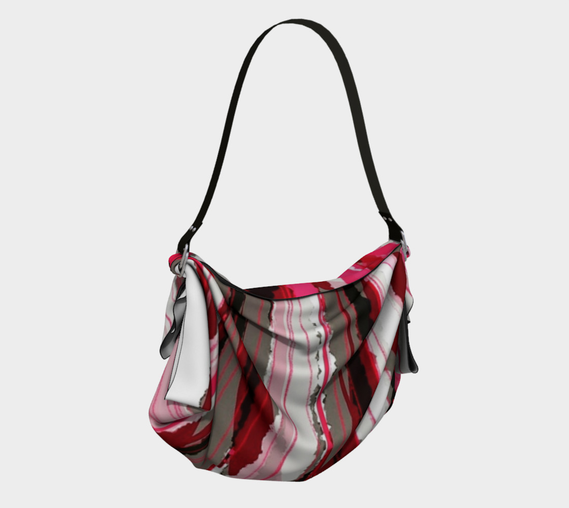 Silk Ribbons Origami handbag preview #2