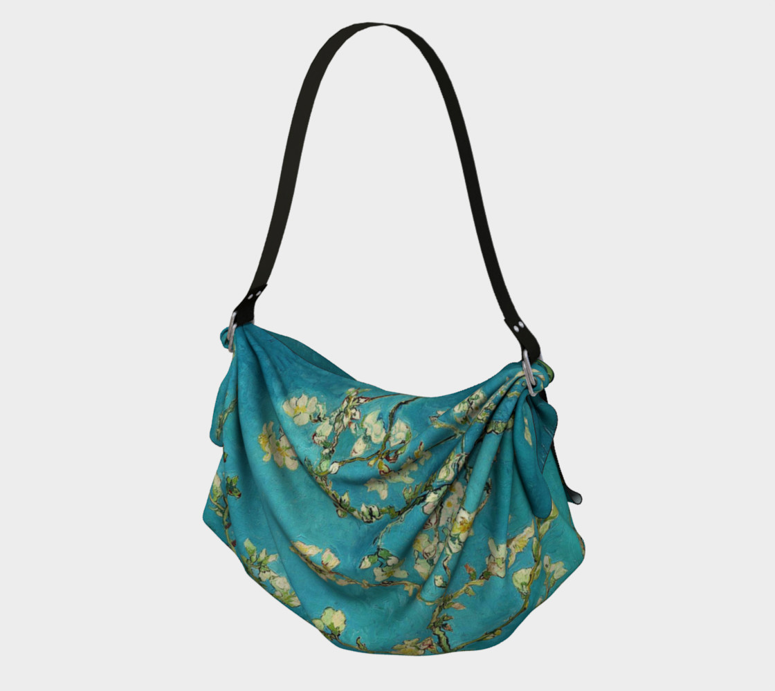 Vincent Van Gogh Blossoming Almond Tree Origami Tote preview #1