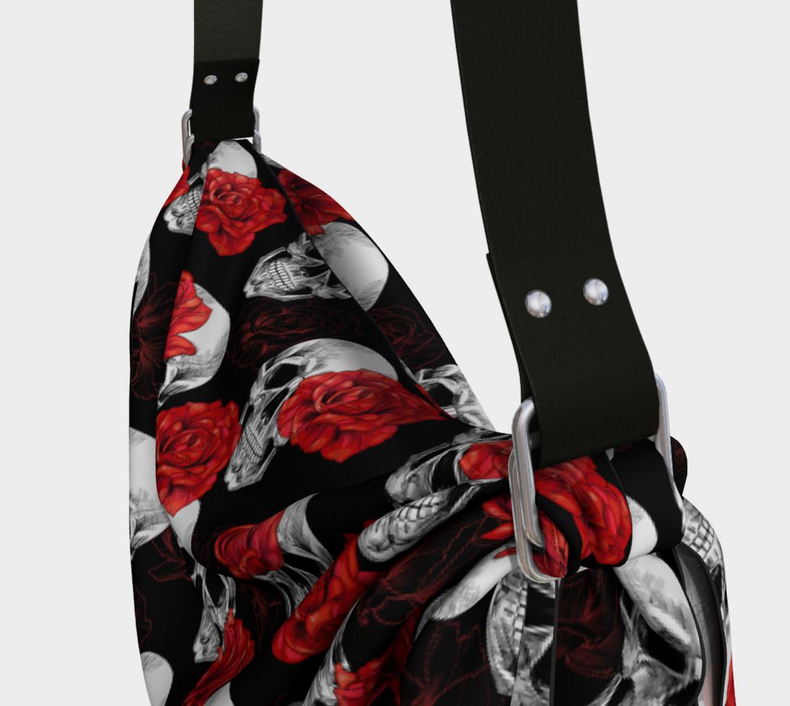 Skull & Roses Origami Bag preview #3