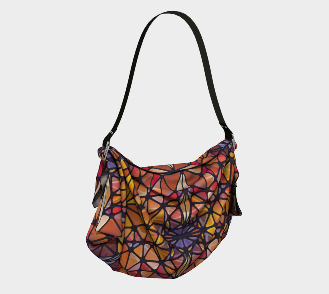 Amber Kaleidoscope Origami Tote preview #2