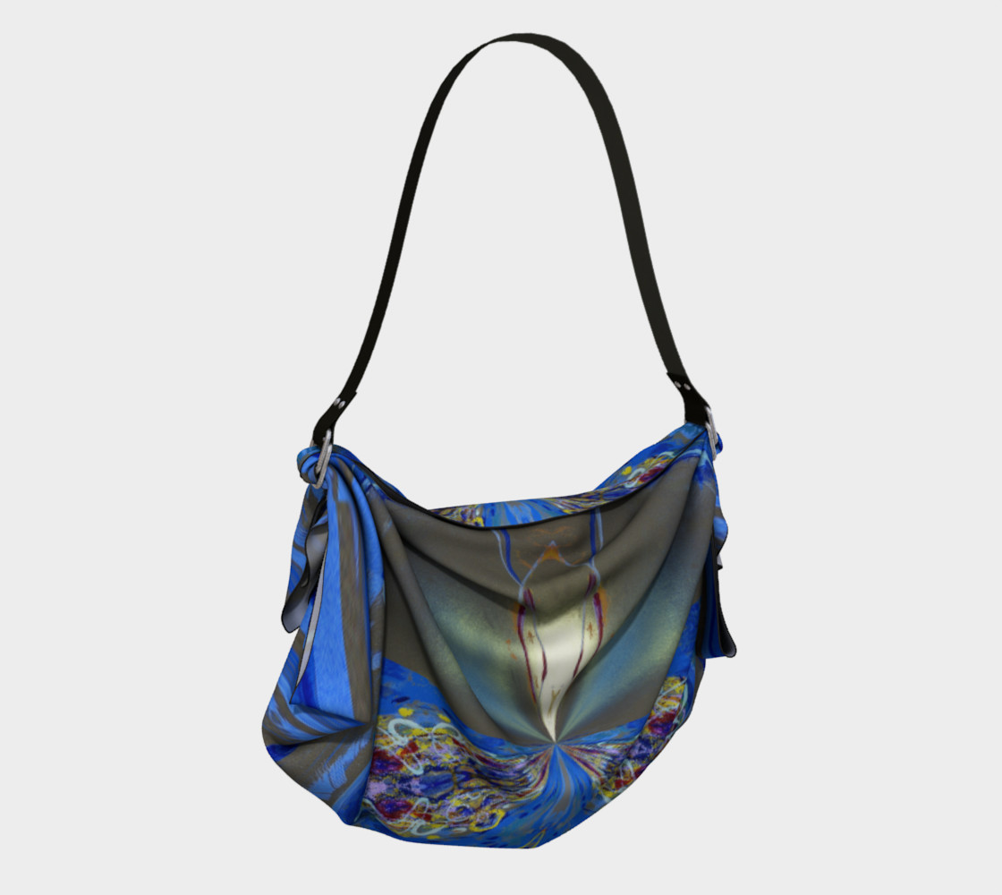 Glowing Gemstone Origami Tote preview #2