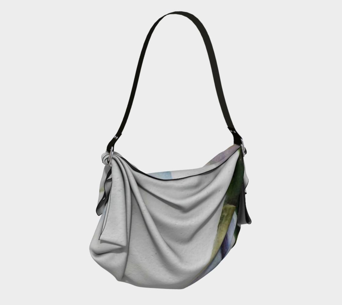 CALLA LILY in WATERCOLOR Origami Bag preview #2