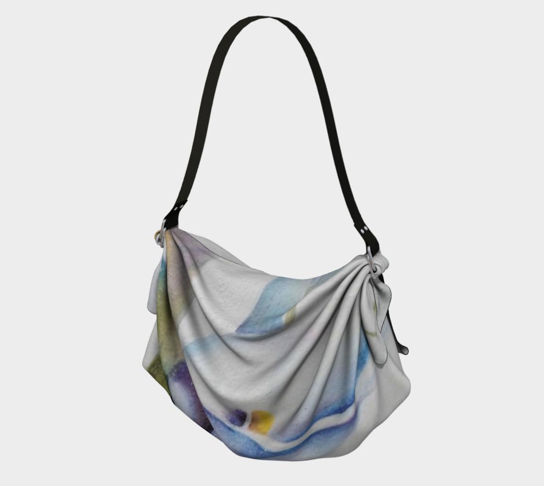 CALLA LILY in WATERCOLOR Origami Bag preview #1
