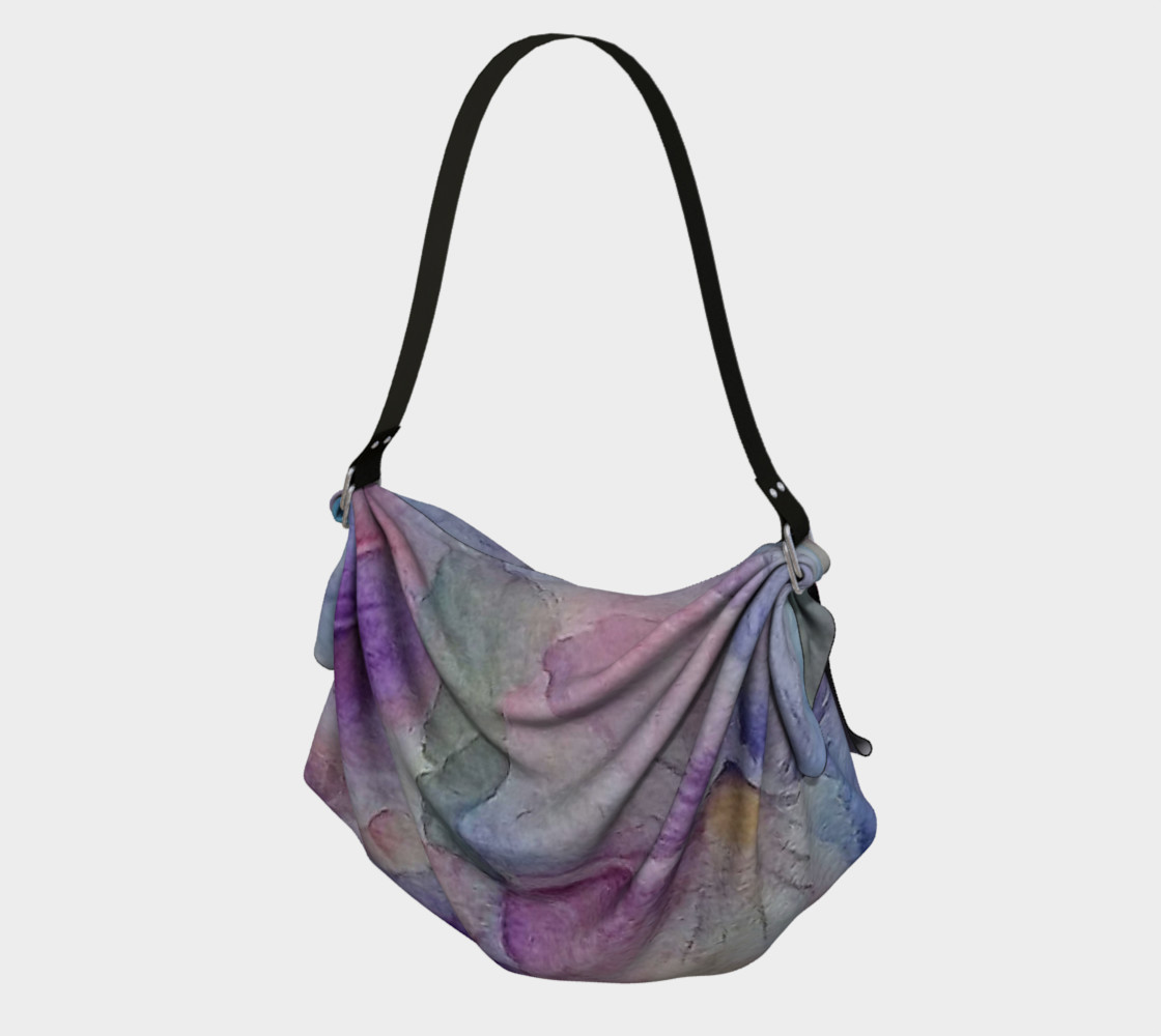 PANSY PARTY in WATERCOLOR Origami Bag preview #1