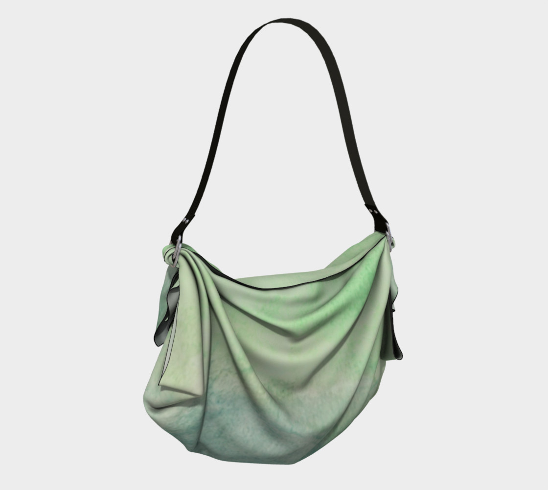 Green Dimension Flower Origami Tote preview #2