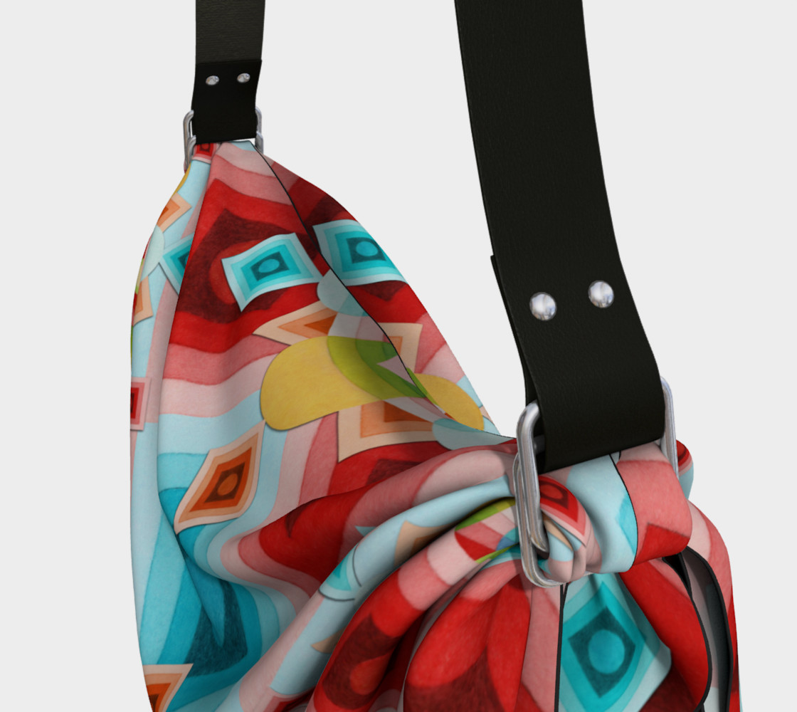 Aperçu de Groovy Op Art Origami Bag #3