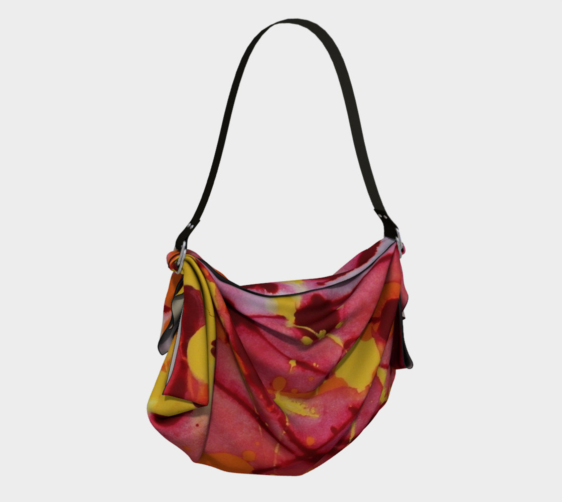 Fire Burst Origami Tote preview #2