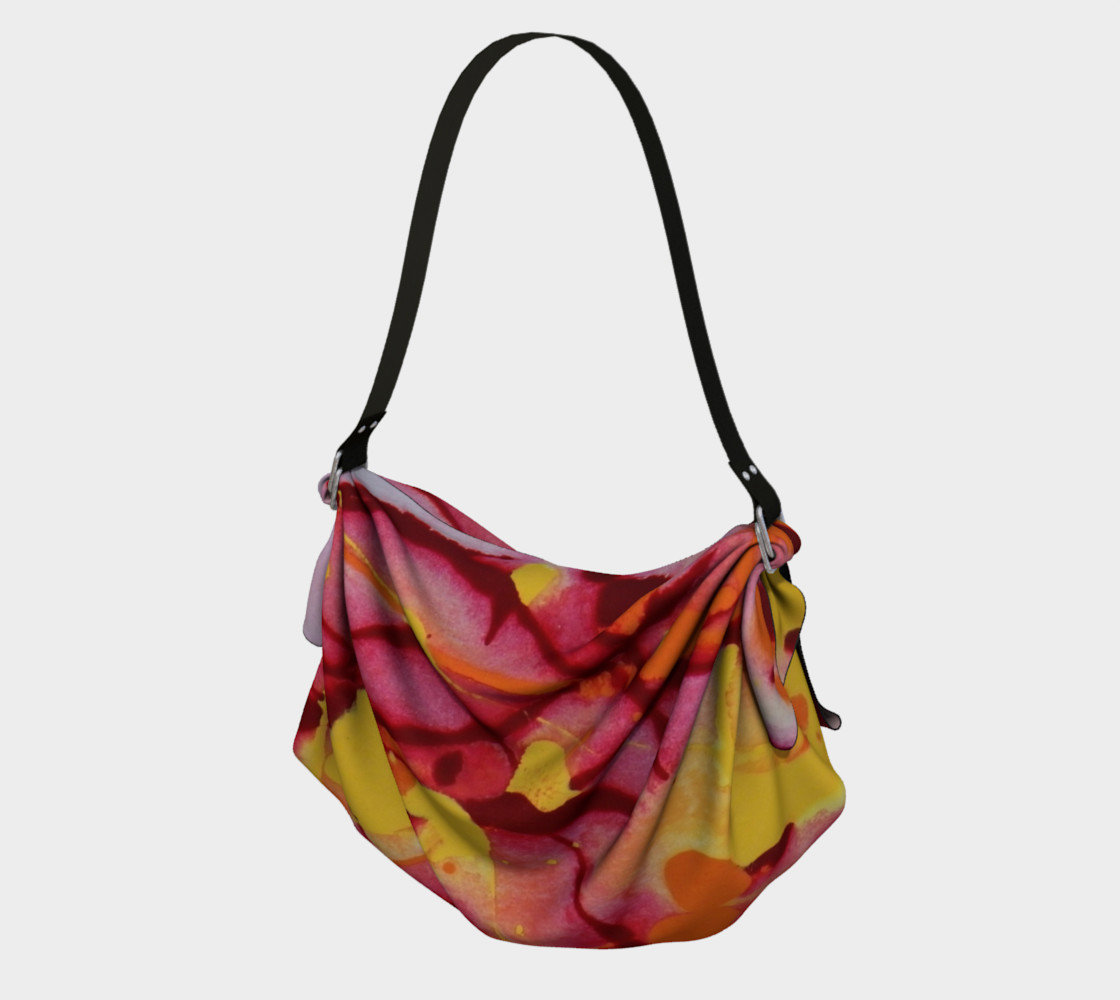 Fire Burst Origami Tote preview #1