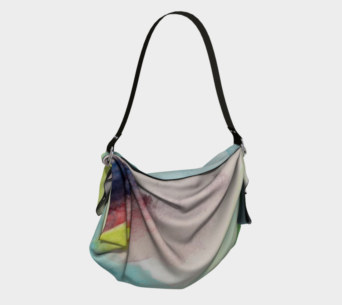 Ocean Rainbow Origami Tote preview #2