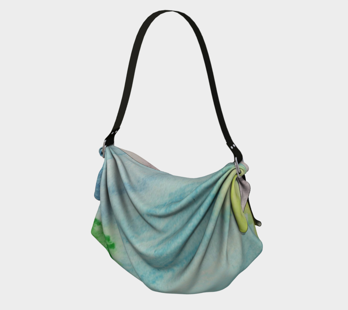 Ocean Rainbow Origami Tote preview #1