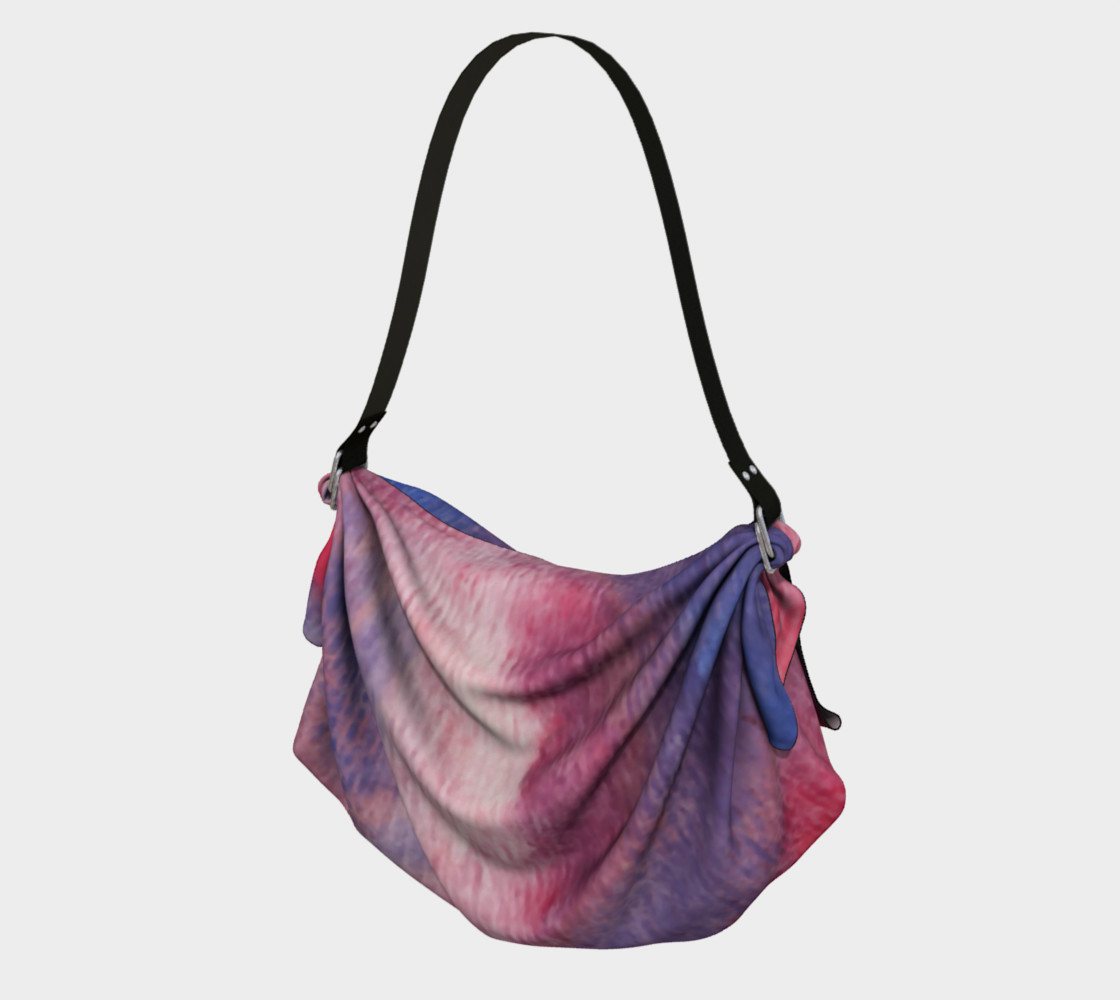 Roses at Night Origami Tote preview #1
