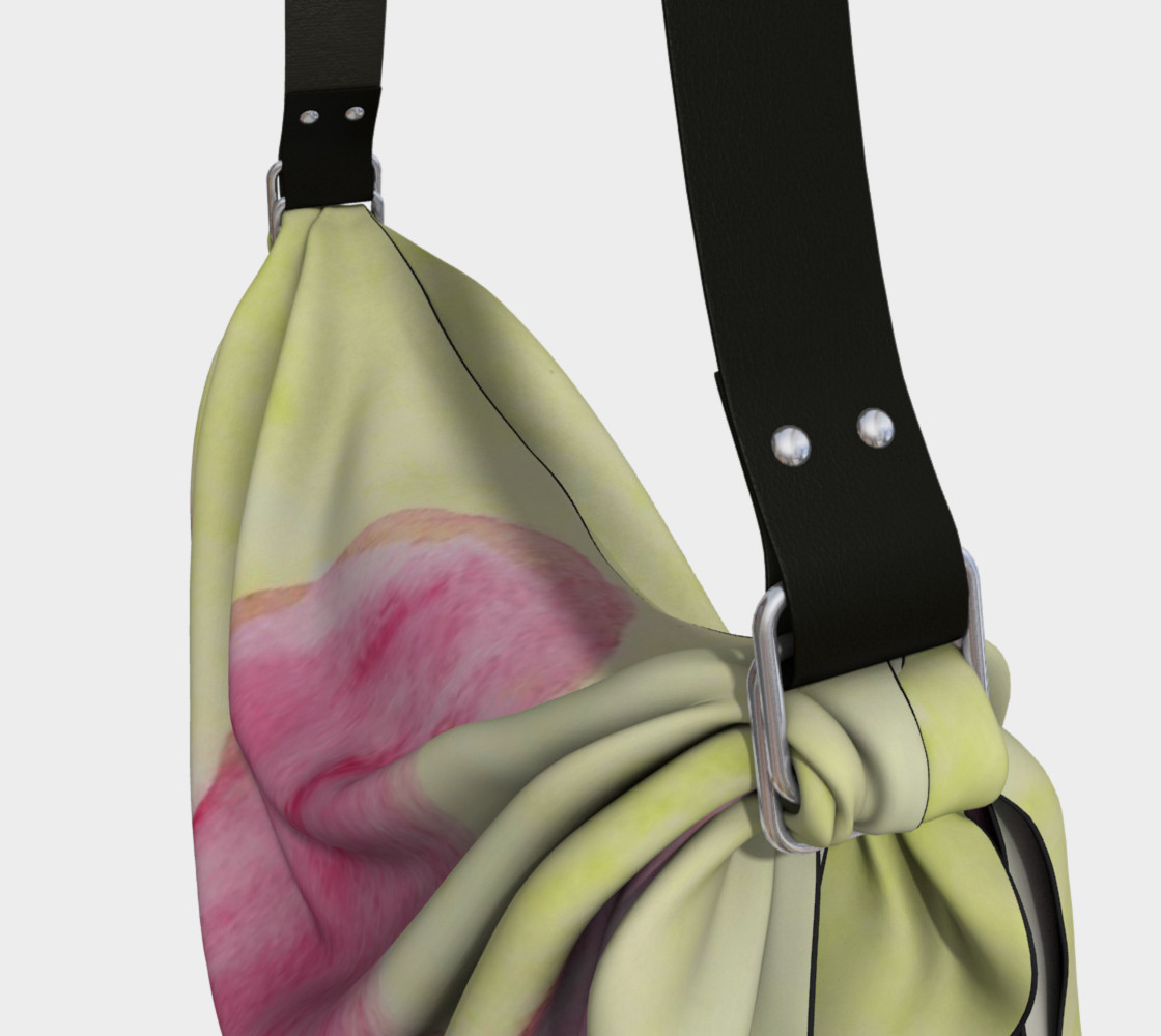 Pink Flower Blossom Origami Tote preview #3
