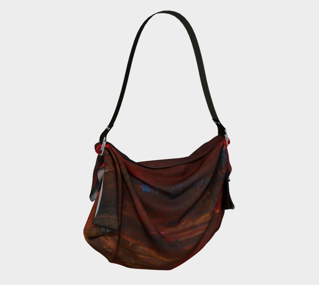 Crimson Ocean Origami Bag preview #2
