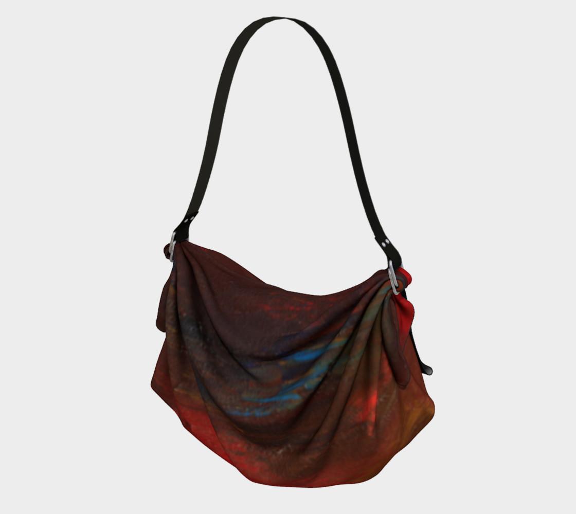 Crimson Ocean Origami Bag preview #1