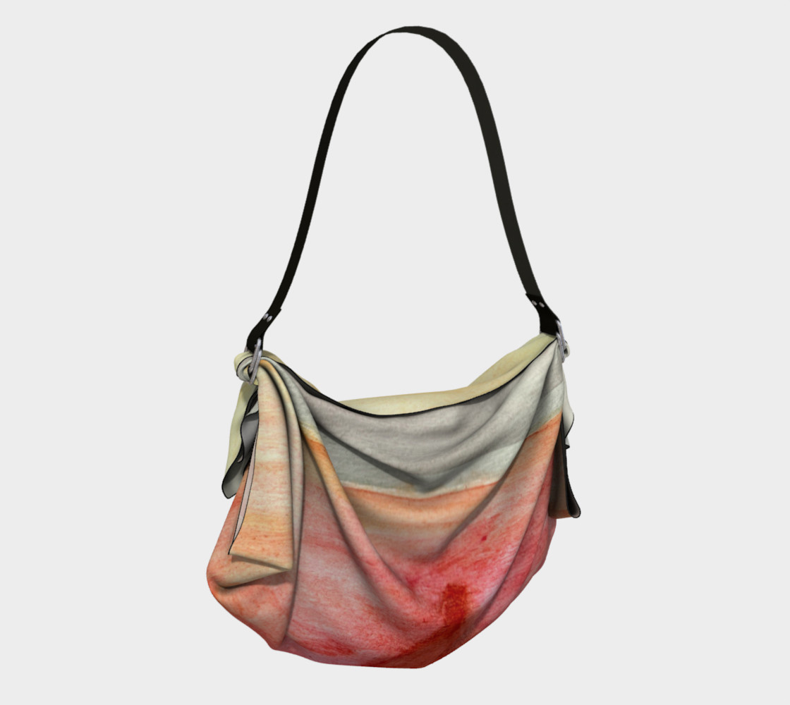 Radiating Heart Origami Tote preview #2