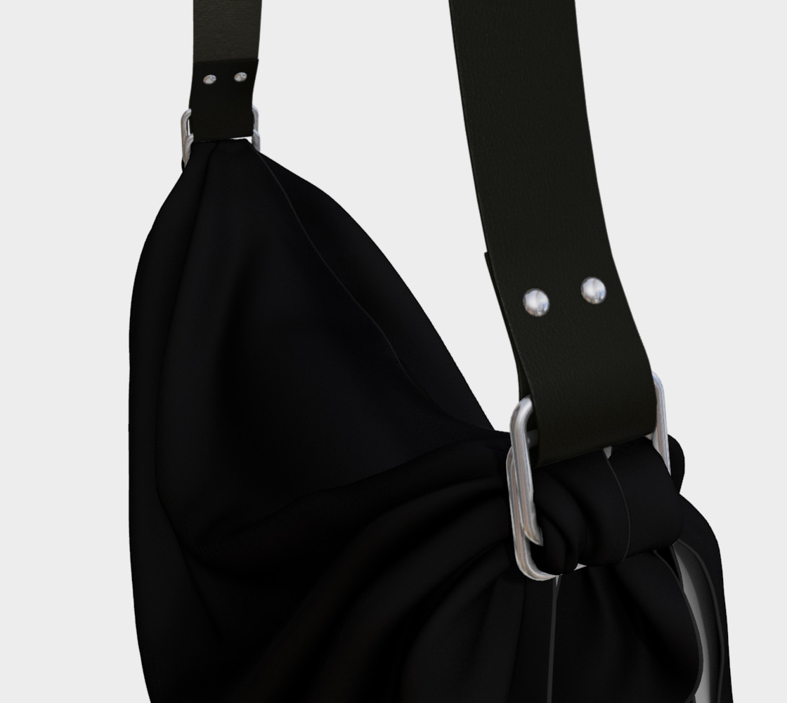 Black as Night Sky Origami Tote preview #3