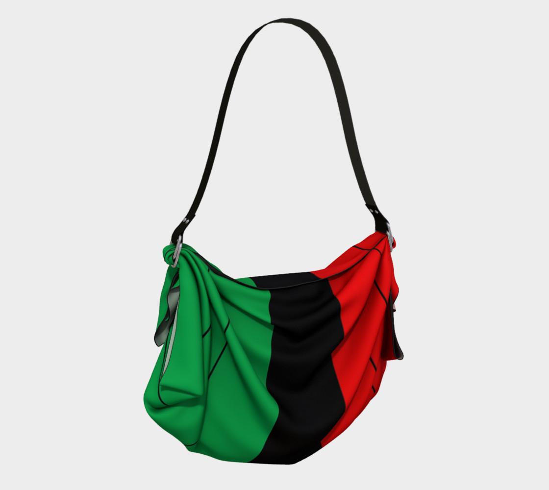 Aperçu de Kwanzaa Striped Pattern Red Black Green #2
