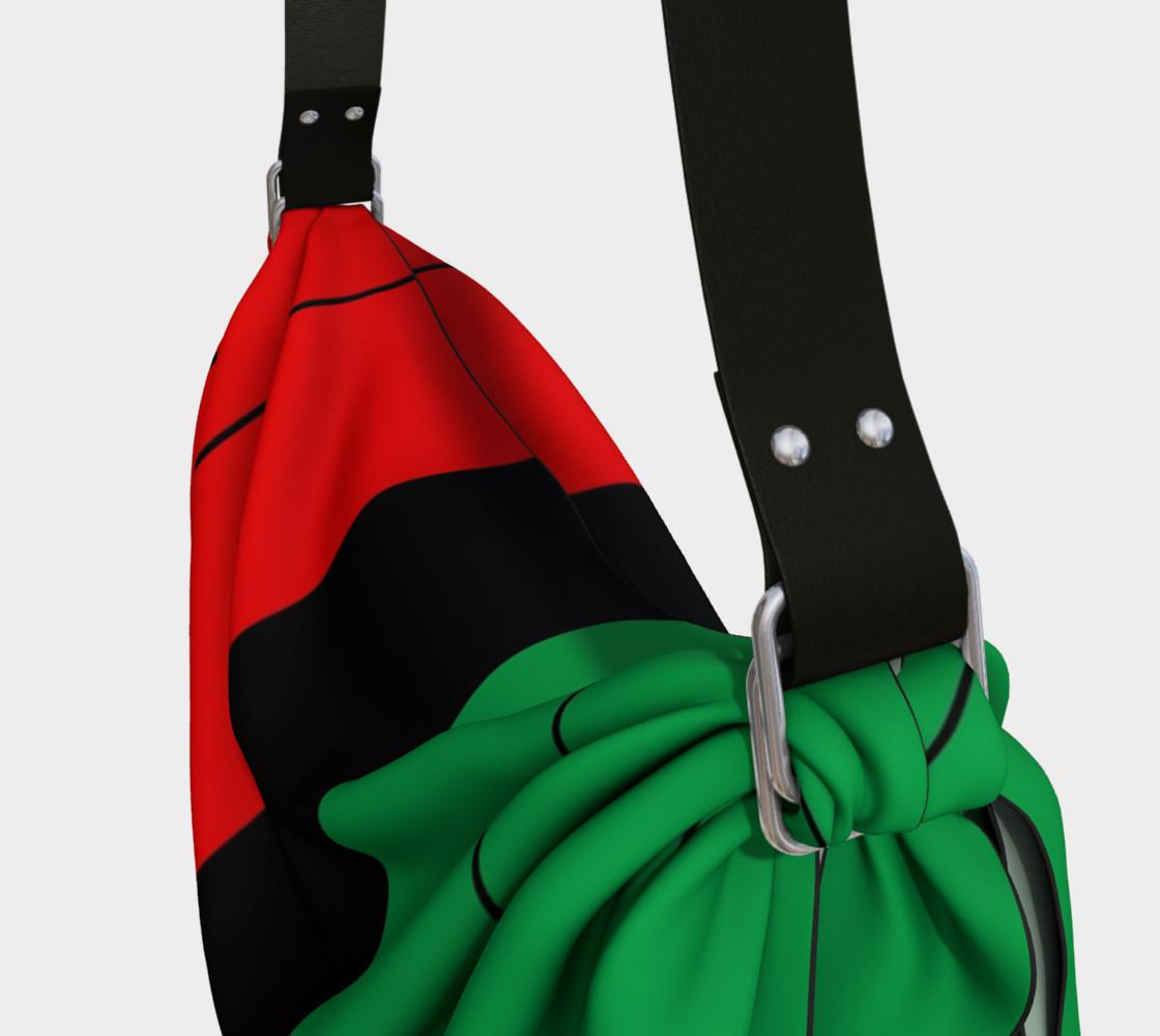 Aperçu de Kwanzaa Striped Pattern Red Black Green #3