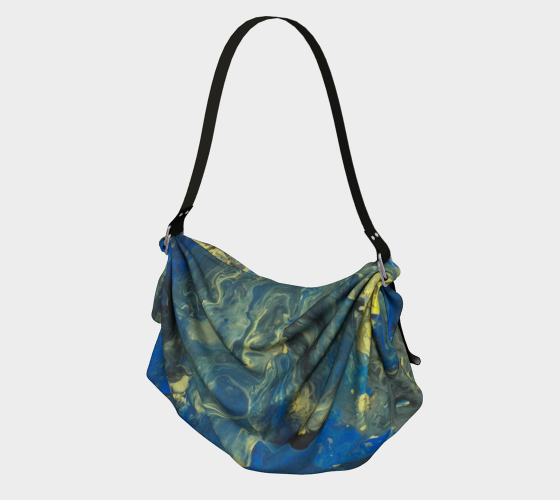 Flowers in the Sky Origami Tote preview #1