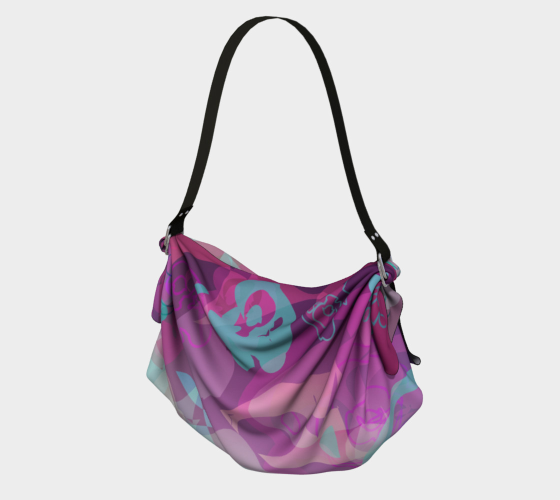 Floral Origami Tote preview #1