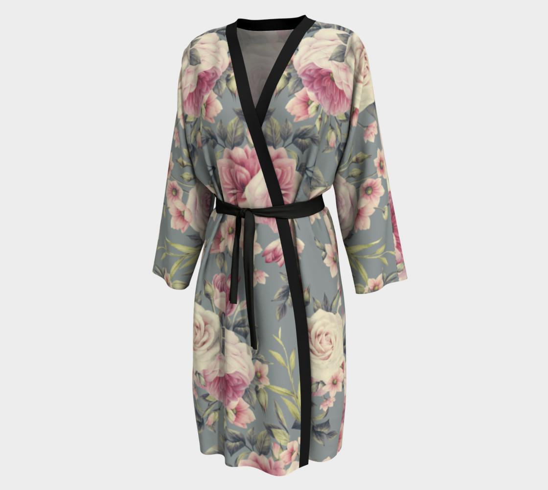 Vintage Rose Peignoir Robe Peignoir By Good Jeenz Shop Art Of Where
