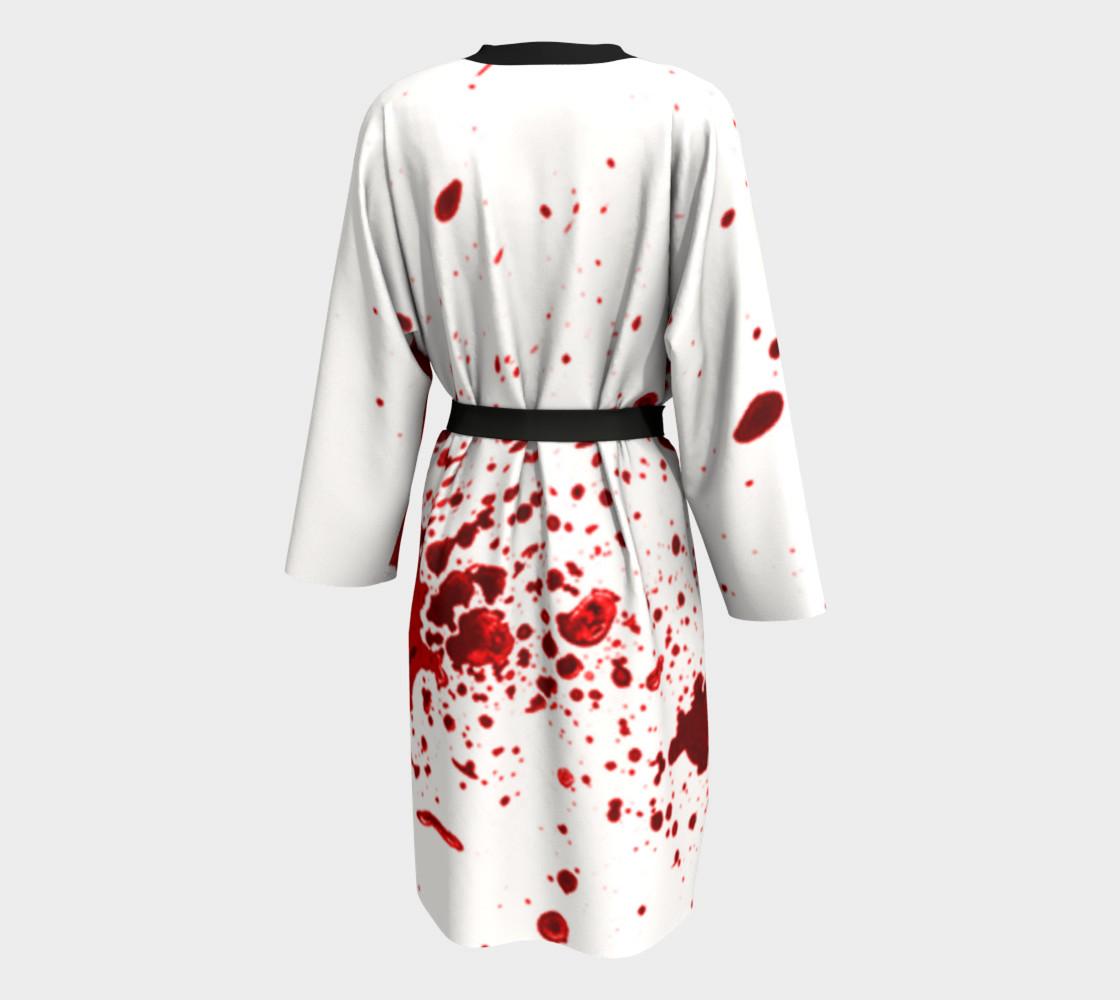 Blood Splatter First Cosplay Halloween Peignoir preview #2