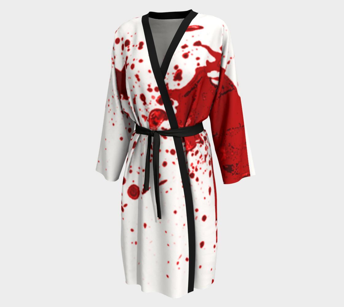 Blood Splatter First Cosplay Halloween Peignoir preview #1