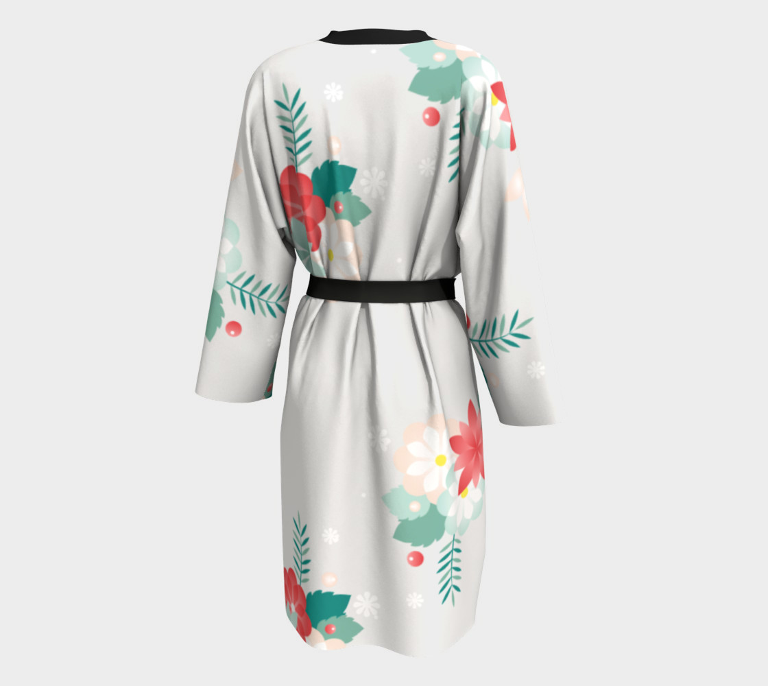 Long Floral Robe preview #2