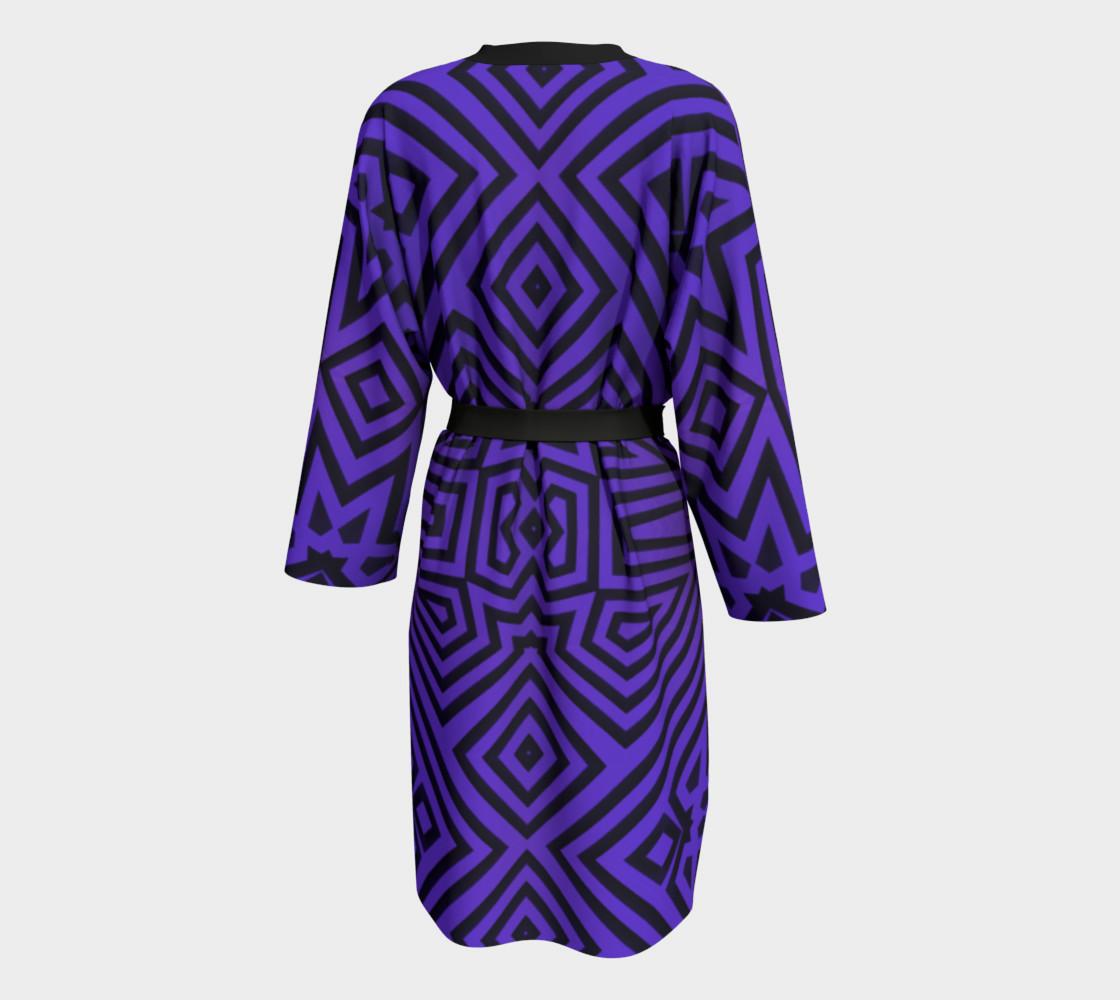 Purple/Black Tribal Pattern preview #2