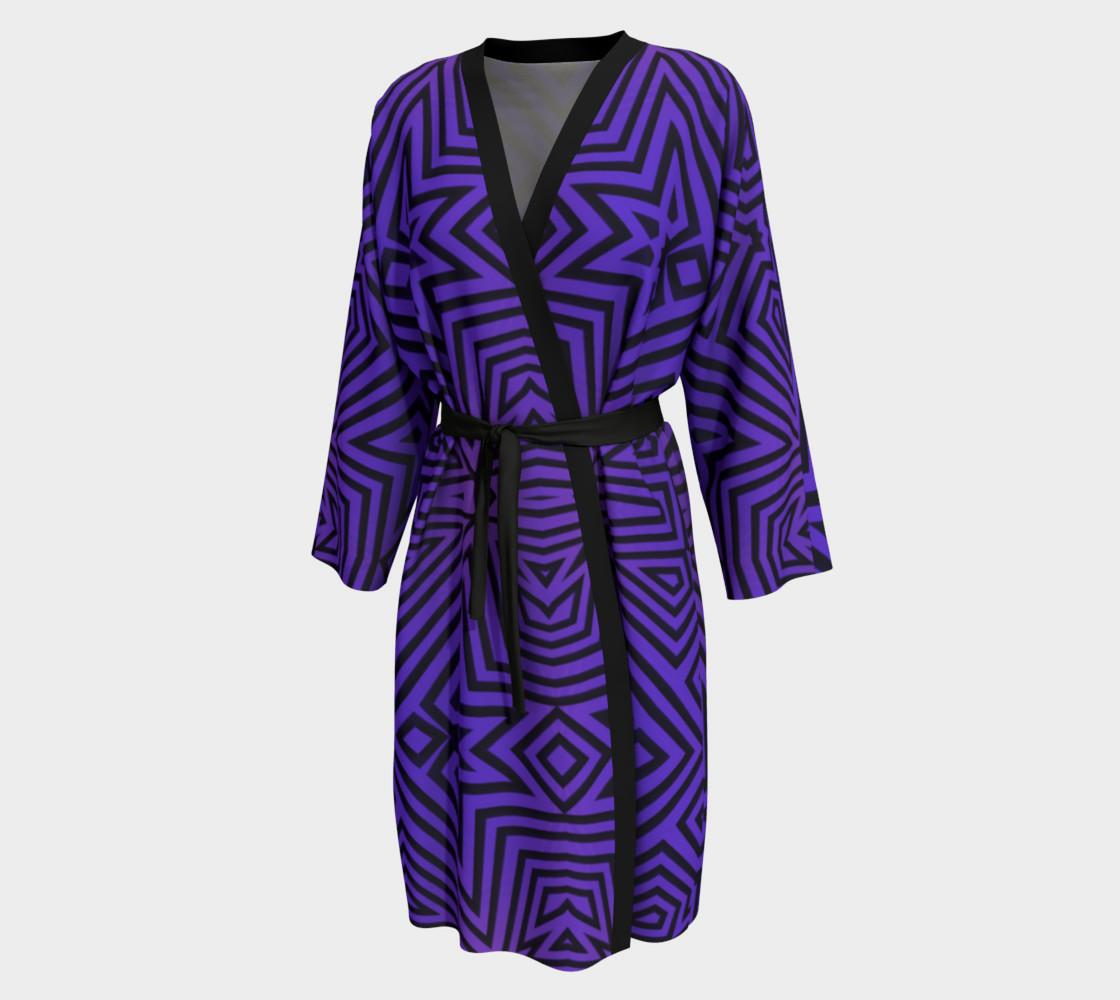 Purple/Black Tribal Pattern preview #1