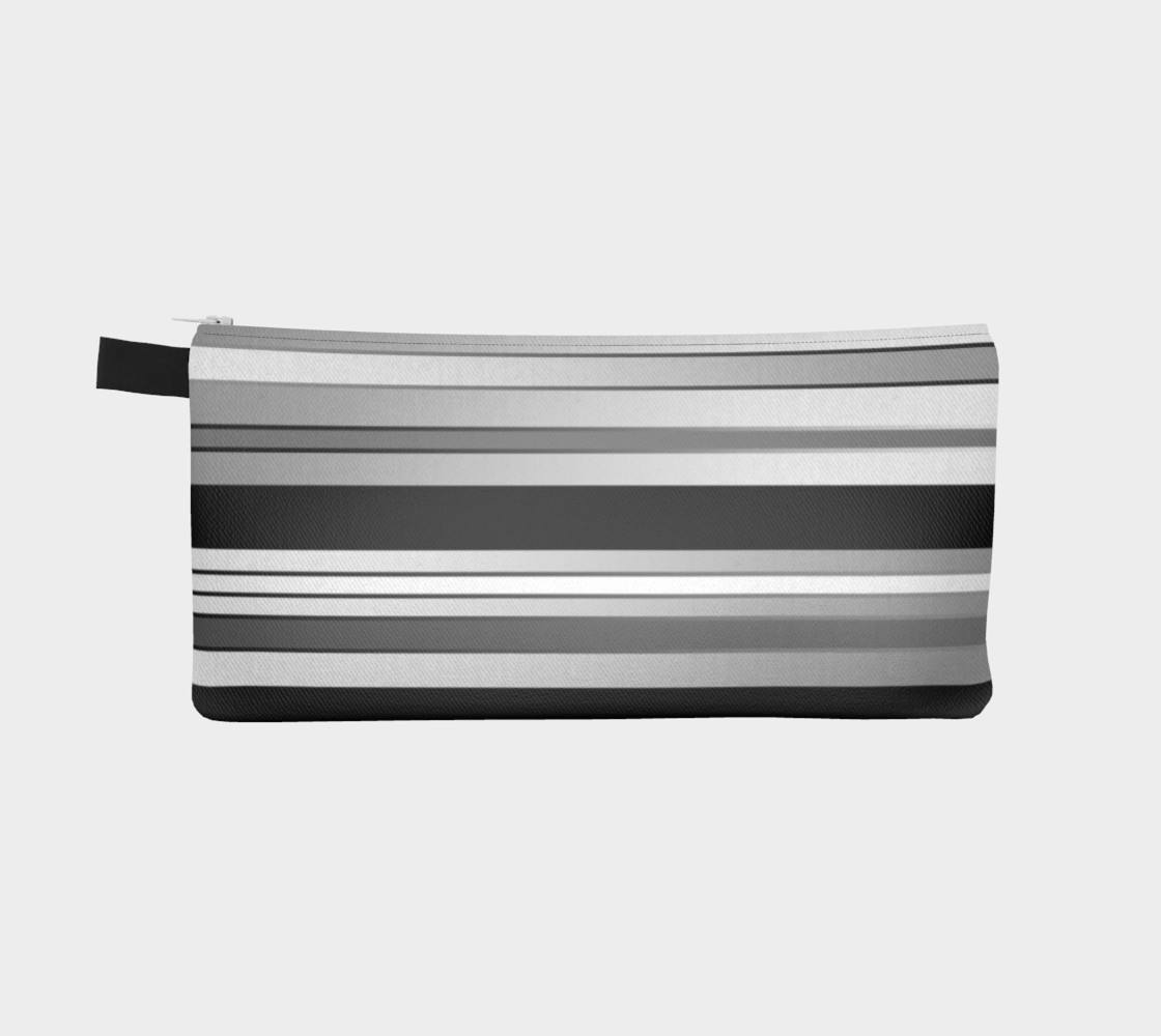 Ombre Stripes in Black, White and Gray preview #2
