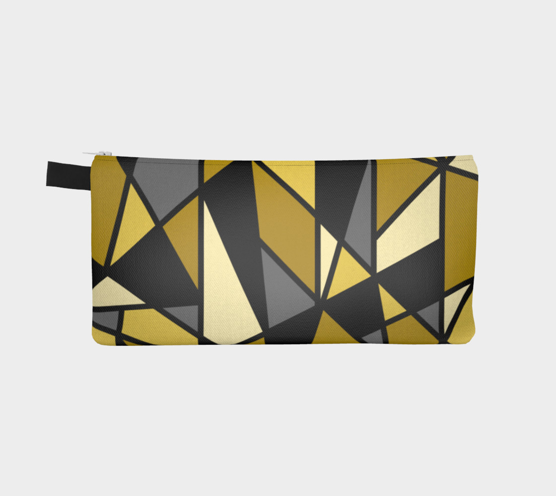Modern Geometric in Yellow, Gray and Black preview #2