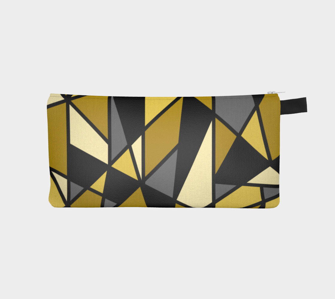 Modern Geometric in Yellow, Gray and Black preview #1