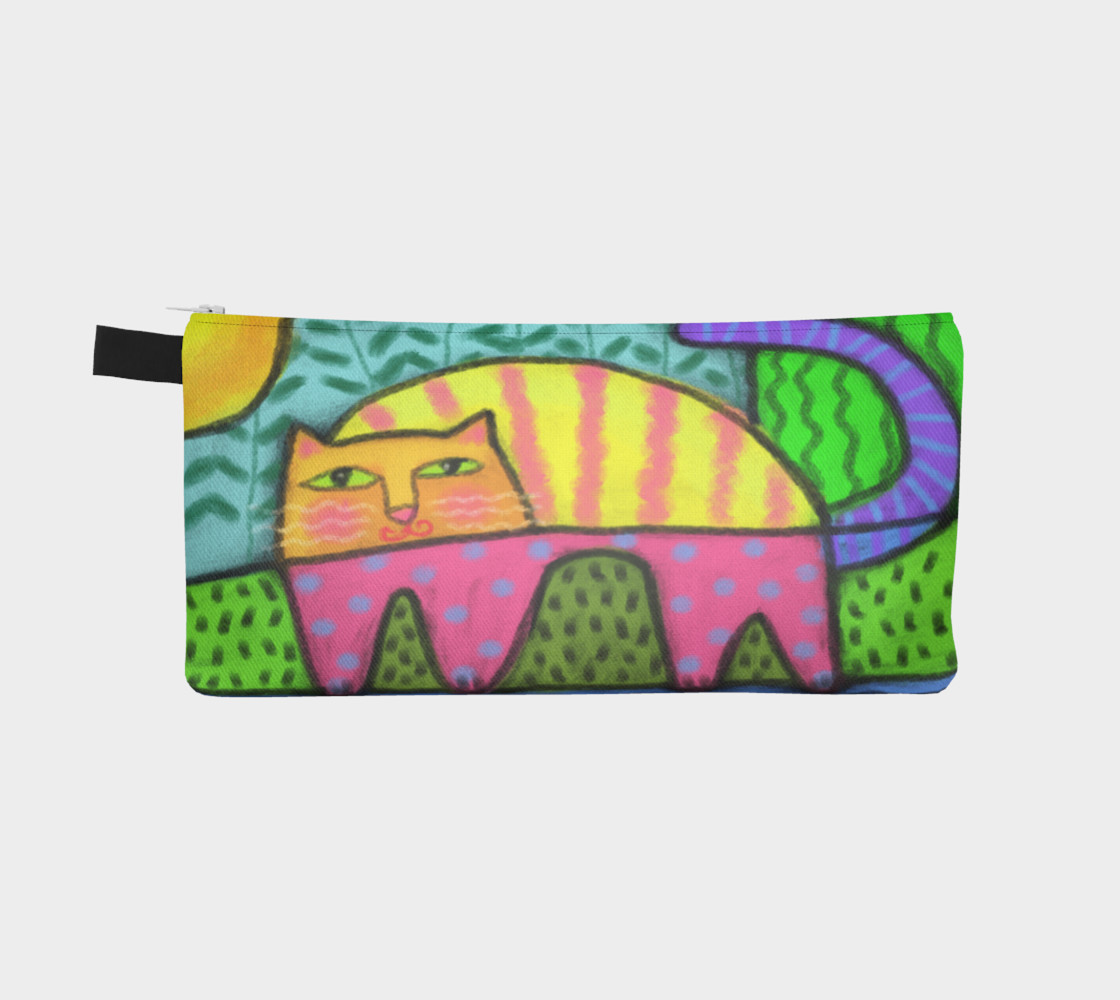 Aperçu de Funky Cat Abstract Art #2