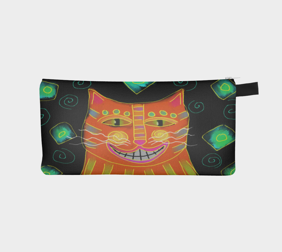 Aperçu de Smiling Cat Abstract Art #1