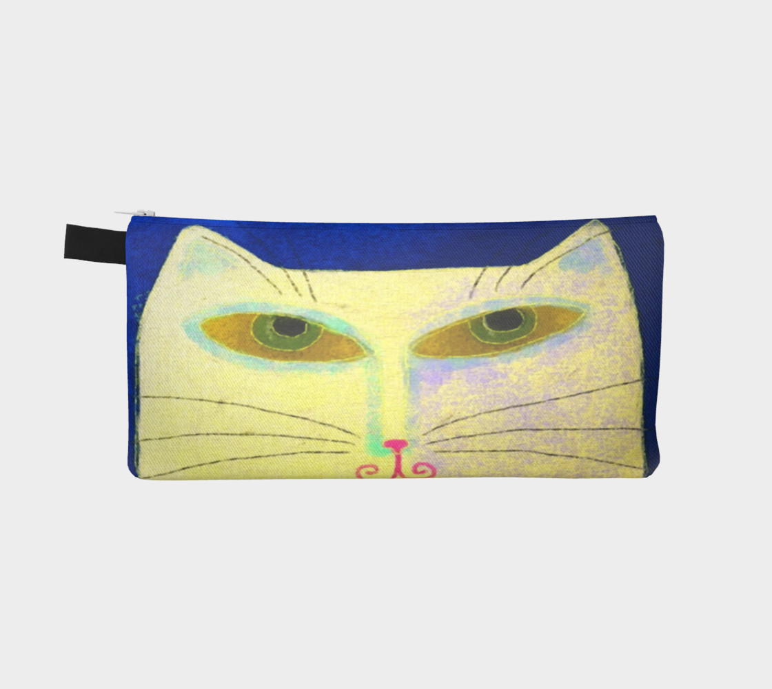 Aperçu de Yellow Cat Abstract Art #2