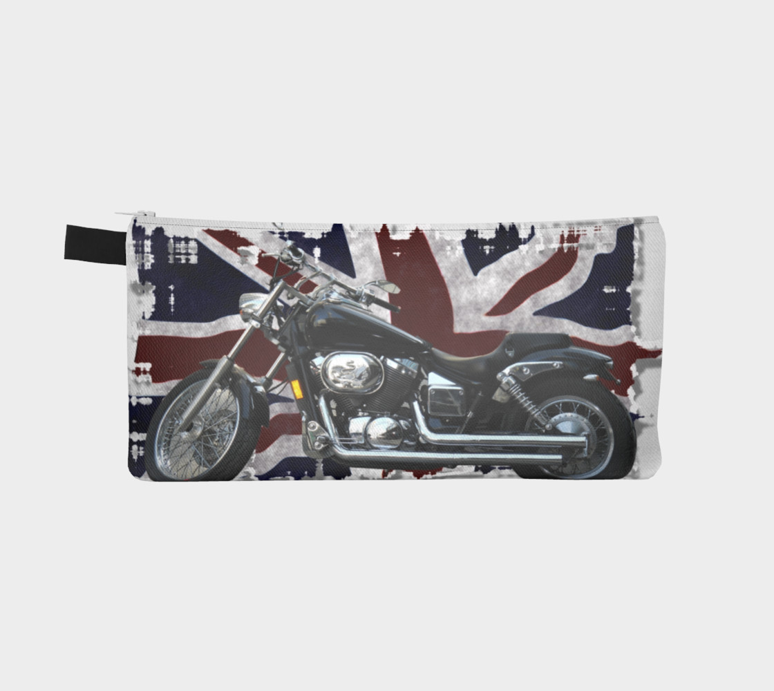 UK Flag & Motorcycle preview #2