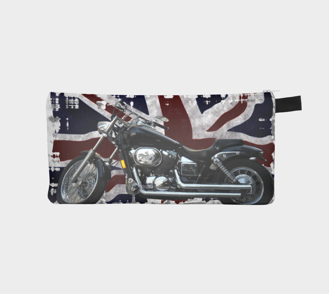UK Flag & Motorcycle preview #1