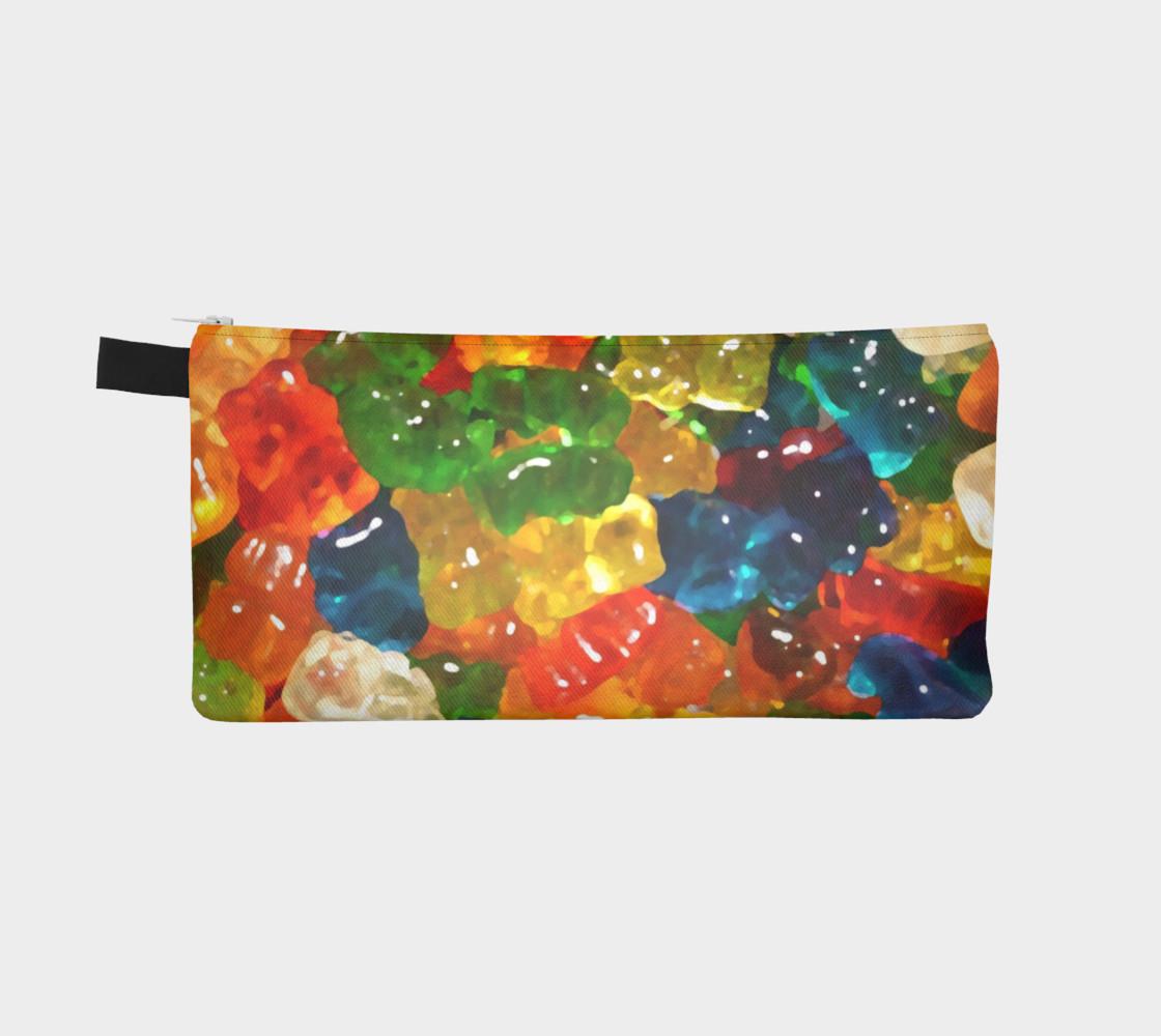 Aperçu de Gummy Bears Pencil Case by Squibble Design #2